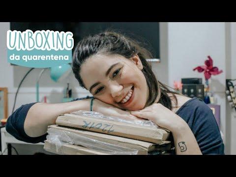 Todo dia um livro | Unboxing da quarentena! #1