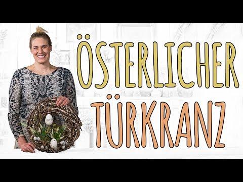 ÖSTERLICHER TÜRKRANZ EINFACH SCHÖN -  DIY