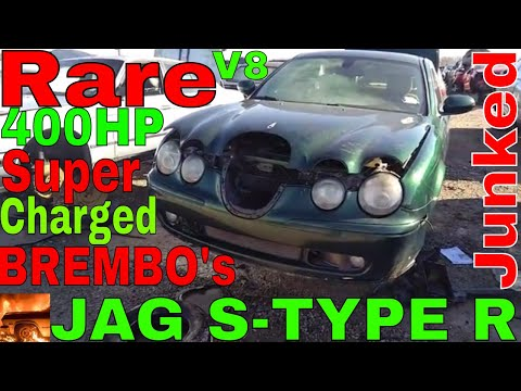 2003 Jaguar S Type R Junk yard Find