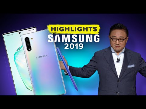 אירוע הגלקסי של סמסונג פרסם את 2019 ב -11 דקות