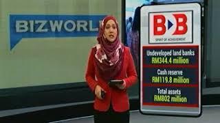 [TV3] SEDUTAN BERITA BIZ WORLD : BINA DARULAMAN BERHAD