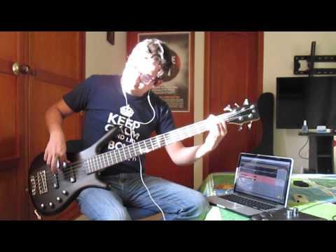 PLACEBO - BRICK SHITHOUSE [Bass Cover + Sheet Music]