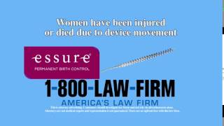 Video thumbnail: Essure Contraceptive Injury Lawsuit
