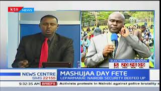 President Uhuru Kenyatta expected at Uhuru park for Mashujaa day celebrations as NASA go to Kisumu