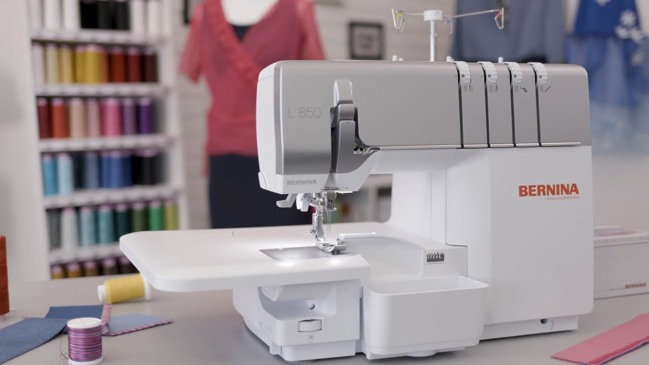 BERNINA L 850 Overlocker/Serger: Getting Started