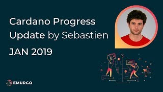 Cardano Progress Update | Sebastien