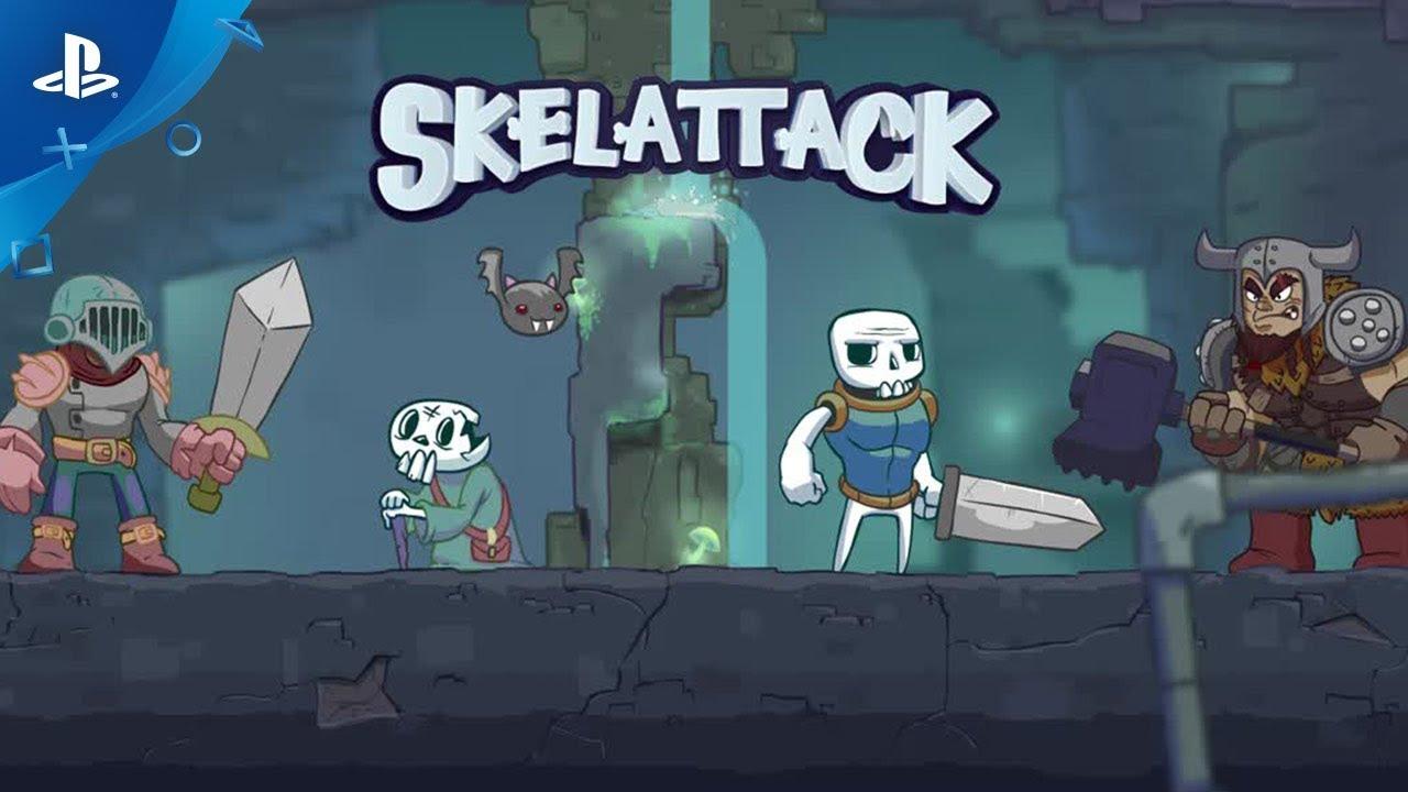 Inversez la tendance dans Skelattack, qui sort aujourd'hui sur PS4