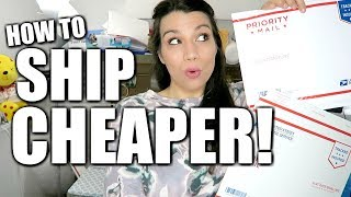 SHIP HEAVY ITEMS CHEAP! Tips Tricks to Save Money When Shipping to Make More Profit Online!
