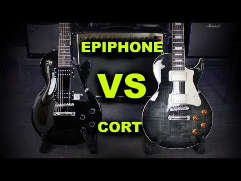 EPIPHONE LP STUDIO VS Cort CR250 - Guitar Battle #15