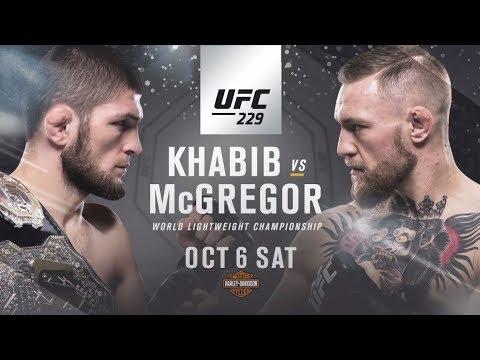 Les trailers de l'UFC pour cet été et cet automne