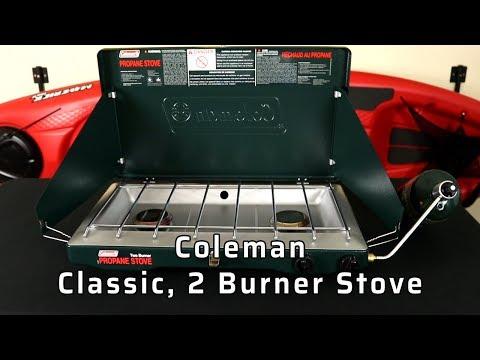 Coleman 2-Burner Propane Camp Stove