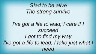 Anvil - Life To Lead Lyrics