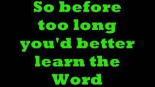 I Saw The Answer There Lyrics - Video.wmv