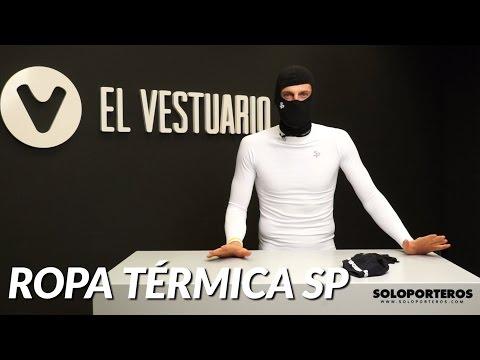 Ropa térmica para el futbolista SP