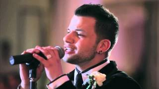 "Groom suprises his beautiful bride by serenading her - ""This I Promise You"""