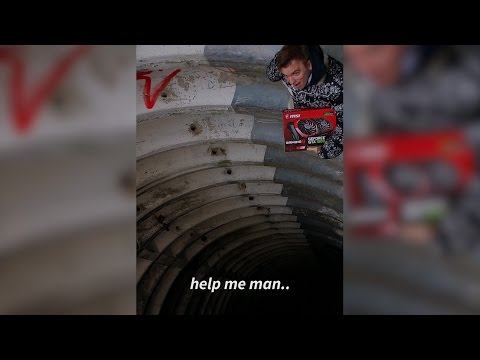 Man gets stuck in Russian missile silo with a GTX 1080