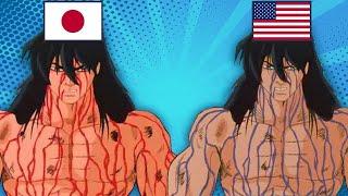 Animes que foram ESTRAGADOS pelos EUA! ?? ? ??