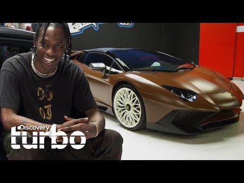 El nuevo Lamborghini chocolate del cantante Travis Scott | West Coast Customs | Discovery Turbo