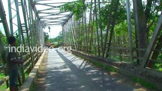 Nkwareu Bridge in Peren district, Nagaland