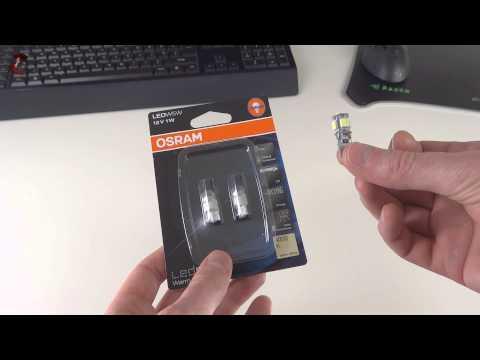 OSRAM LEDriving LED W5W 4000k Car Bulb Review