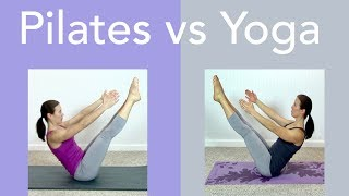 Pilates vs Yoga, What's the Difference?