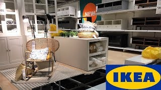 IKEA TABLES LIVING ROOM FURNITURE HOME DECOR - SHOP WITH ME SHOPPING STORE WALK THROUGH 4K