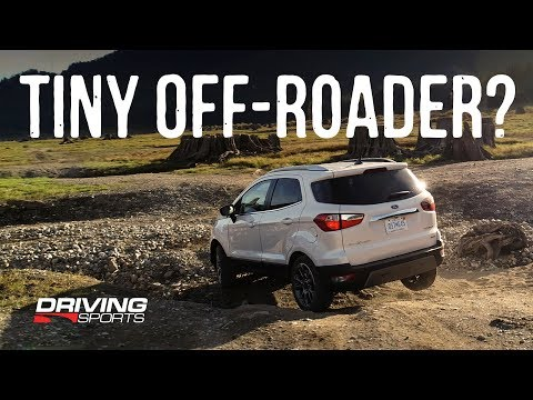 We Take The 2018 Ford Ecosport Crossover Offroading (Full Review)