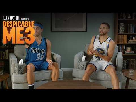 Despicable Me 3 - In Theaters June 30 (Steph Curry ESPN Spot) (HD)
