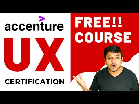 Free UX Design Course with Certificate | Accenture | User ...