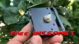 Amazing Free Internet 100% at home