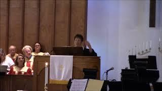 """""""God's Love ENDURES!!!""""; Scripture Readings: Psalm 136 and Revelation 21:1-5; Rev. Wen"""