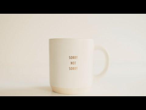 Friday Takeaway - Stop Apologising