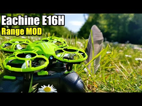 EACHINE E016H MINI DRONE RANGE MOD WITH IN-DEPTH RANGE TEST COMPARISON