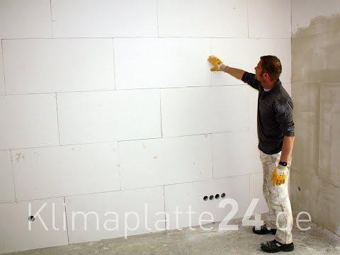 Klimaplatten verarbeiten - Kalziumsilikatplatten von klimaplatte24.de zur Schimmelsanierung