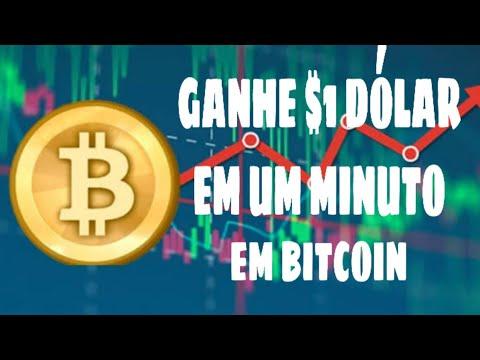 Saiu! Ganhe 1$ Dólar em Bitcoin em Um minuto - Ganhar Dinheiro na Internet \Money no Paypal/