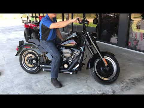 2017 Harley-Davidson Softail Fat Boy S at Dale's Fun Center, Victoria, TX 77904