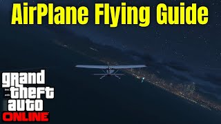 How to Fly Airplanes in GTA 5 Online : Airplane controls gta 5 pc : gta 5 Airplane Flying tutorial