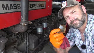 TRACTOR SERVICE HACKS!!  DON'T MAKE THIS MISTAKE!! MASSEY, FORD, JOHN DEERE, KUBOTA