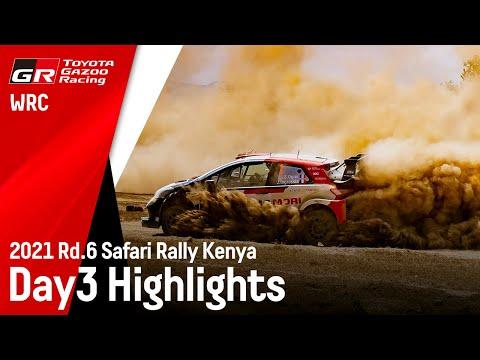 オジェと勝田のみ!トヨタGazooRacing WRC第6戦ラリー・ケニア Day3ハイライト動画