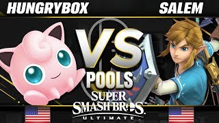 Liquid | Hungrybox (Jigglypuff) vs. Liquid MVG | Salem (Link) - Ultimate Pools - SC United