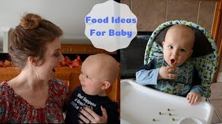 What Baby Eats in a Day | Table Food Ideas