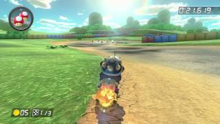 SNES Donut Plains 3 - 1:14.825 - ジェイ* (Mario Kart 8 World Record)