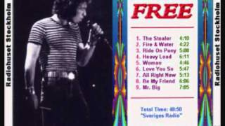 FREE : LIVE 1970 : WOMAN .