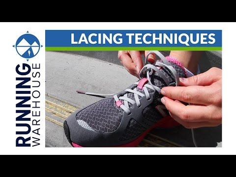 Lacing Running Shoes For Wide Feet
