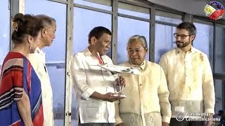 PRES. DUTERTE GRACES THE ROLL-OUT OF PHILIPPINE AIRLINES (PAL) NEW AIRBUS A350 & A321 NEO AIRCRAFT