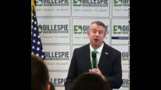 Gillespie Promises to Run Next Year, But the Election is THIS Year