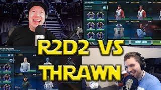 Star Wars: Galaxy Of Heroes - Zeta R2D2 VS Thrawn
