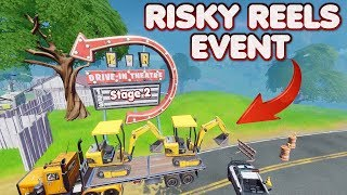 FORTNITE - RISKY REELS DIG SITE EVENT ( STAGE 2 ) LIVE - WHEN WILL ( STAGE 3 ) START - WHAT WE KNOW