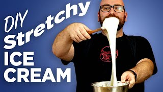 Stretchy Ice Cream - Can I Make It Stretch Using A 500-Year-Old Technique??
