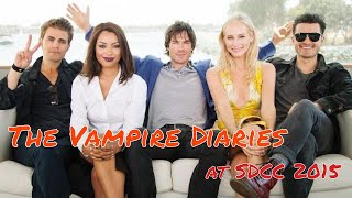 Катерина Грэхэм, The Vampire Diaries @ Comic-Con 2015! Ian Somerhalder! Paul Wesley!